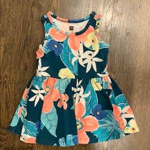 Tea Floral Dress 12-18 mths